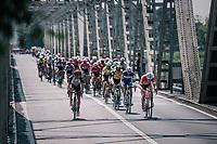 Markel Irizar (ESP/Trek-Segafredo) pulling at the front<br /> <br /> stage 13 Ferrara - Nervesa della Battaglia (180km)<br /> 101th Giro d'Italia 2018