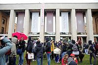 Roma, 22 Dicembre 2010.La Sapienza.Studenti in corteo contro la riforma Gelmini..students in march against the reform Gelmini