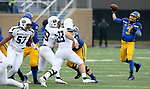 SIOUX FALLS, SD - NOVEMBER 3: Taryn Christion #3 from South Dakota State passes the ball against Missouri State during their game Saturday afternoon at Dana J. Dykhouse Stadium in Brookings. (Photo by Dave Eggen/Inertia)