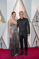 Gal Gadot and Yaron Varsano arrive on the red carpet of The 90th Oscars&reg; at the Dolby&reg; Theatre in Hollywood, CA on Sunday, March 4, 2018.<br /> *Editorial Use Only*<br /> CAP/PLF/AMPAS<br /> Supplied by Capital Pictures