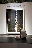 Photokina in Cologne ist the World's biggest bi-annual photo fair..Photo exhibition at Hall 1..Andreas Gursky.