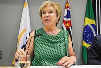 SAO PAULO, SP, 18 DE JANEIRO 2013 - VALE CULTURA - Ministra da cultura Marta Suplicy durante lançamento do Vale Cultura na tarde desta segunda-feira, 18 na sede da Fecomercio na regiao da Avenida Paulista. FOTO: VANESSA CARVALHO - BRAZIL PHOTO PRESS. .