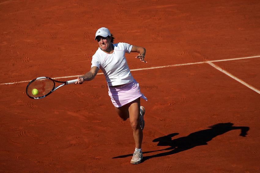 Photo: Iconsport/Richard Lane Photography..Roland Garros 2006. .09/06/2006..Justine Henin-Hardenne of Belgium..
