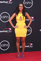 LOS ANGELES, CA - JULY 12: Rachel Lindsay at The 25th ESPYS at the Microsoft Theatre in Los Angeles, California on July 12, 2017. Credit: Faye Sadou/MediaPunch
