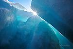 ice blue caverns, Lake Superior Marquette