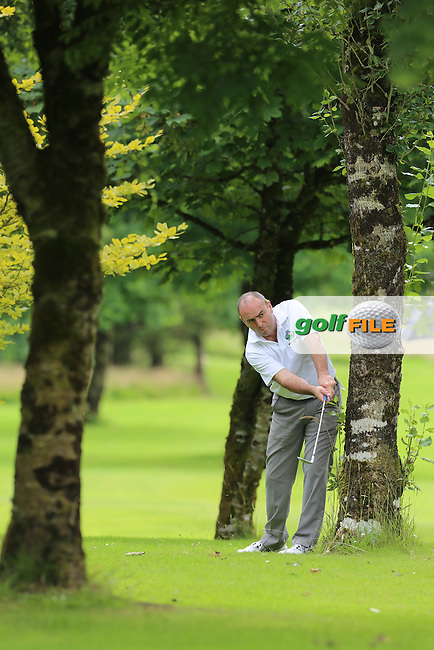 Noel O'Shaughnessy (Gort) during the Connacht Mixed Foursomes matches, Tuam golf club, Tuam Co Galway, 23 July 2016<br /> Picture Jenny Matthews / Golffile.ie<br /> <br /> All photo usage must carry mandatory copyright credit (&copy; Golffile   Jenny Matthews)