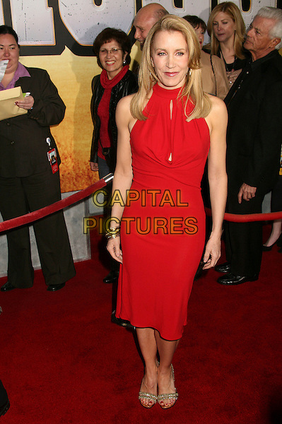 "FELICITY HUFFMAN.""Wild Hogs"" Los Angeles Premiere at the El Capitan Theatre, Hollywood, California, USA..February 27th, 2007.full length red dress .CAP/ADM/BP.©Byron Purvis/AdMedia/Capital Pictures"