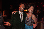 David Arquette and Lynda Kay at Bootsy Bellows Dinner Theater Extravaganza on the Sunset Strip in West Hollywood, CA