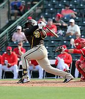 Jorge Ona - San Diego Padres 2020 spring training (Bill Mitchell)