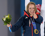 15/02/2014 - Medal Ceremonies - Medal Plaza - Olympic Park - Sochi - Russia
