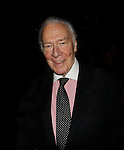Lifetime Achievement Award presented to Christopher Plummer - 70th Annual Theatre World Awards on June 2, 2014 at Circle on the Square, New York City, New York (Photo by Sue Coflin/Max Photos)
