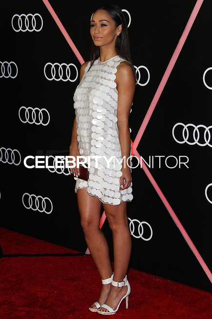 LOS ANGELES, CA - JANUARY 09: Cara Santana at the Audi Golden Globe Awards 2014 Cocktail Party held at Cecconi's Restaurant on January 9, 2014 in Los Angeles, California. (Photo by Xavier Collin/Celebrity Monitor)