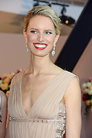 "Karolina Kurkova attending the ""Rosenball"" Charity Gala in favor of the ""Stiftung Deutsche Schlaganfallhilfe"" held at the Hotel Intercontinental in Berlin, Germany, 09.06.2012..Credit: Michael Timm/face to face /MediaPunch Inc. ***FOR USA ONLY*** NORTEPHOTO.COM"