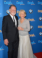Helen Mirren &amp; Taylor Hackford at the 69th Annual Directors Guild of America Awards (DGA Awards) at the Beverly Hilton Hotel, Beverly Hills, USA 4th February  2017<br /> Picture: Paul Smith/Featureflash/SilverHub 0208 004 5359 sales@silverhubmedia.com