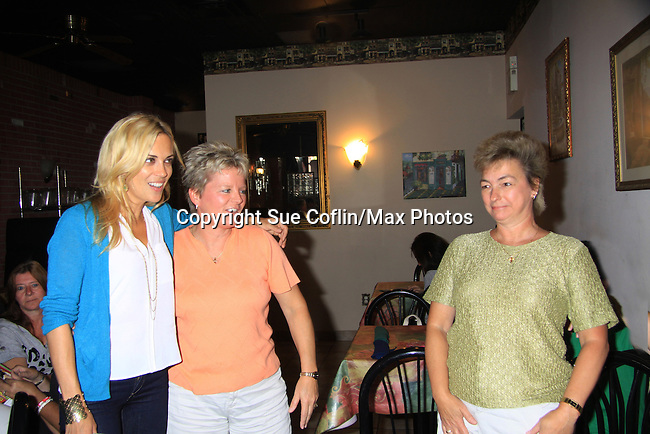 "General Hospital's Kelly Sullivan ""Kate"" & fans at Uncle Vinnie's Comedy Club on September 9, 2012 in Pt. Pleasant, New Jersey to see their fans for autographs, meet/greet and photos.  (Photo by Sue Coflin/Max Photos)"