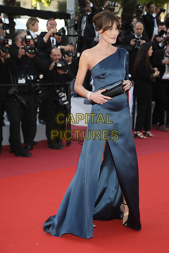 Carla Bruni attends the LES MISÉRABLES premiere -72nd annual Cannes Film Festival  Cannes France on May 15 2019.<br /> CAP/GOL<br /> ©GOL/Capital Pictures