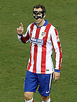 Atletico de Madrid's Diego Godin during La Liga match.February 21,2015. (ALTERPHOTOS/Acero)
