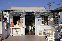 Santorini's art shop in Firostefani