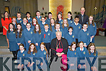 The pupils of Emma O'Briens Class who werer confirmed on Friday by Bill Murphy Bishop of Kerry assisting the bishop was Fr Padraig Walsh PP of St Brendan'sChurch, Tralee were the pupils were confirmed.