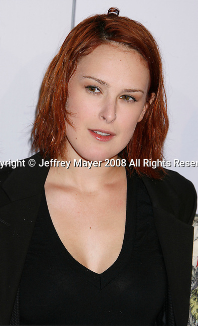 """WESTWOOD, CA. - January 29: Actress Rumer Willis arrives at the Los Angeles Premiere of """"Push"""" at the Mann Village Theater on January 29, 2009 in Westwood, California."""
