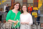 Alice O'Mahony and Annmarie O'Mahony enjoying the Listowel Races on Sunday
