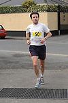 Brian McAuley winner of the Ferdia 5k run in Ardee. Photo: Colin Bell/pressphotos.ie