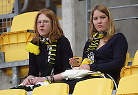 Phoenix fans during the A-League football match between Wellington Phoenix and Perth Glory at Westpac Stadium, Wellington, New Zealand on Sunday, 16 August 2009. Photo: Dave Lintott / lintottphoto.co.nz