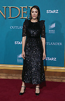"HOLLYWOOD, CA - FEBRUARY 13: Mishel Prada, at the Premiere Of Starz's ""Outlander"" Season 5 at HHollywood Palladium in Hollywood California on February 13, 2020. Credit: Faye Sadou/MediaPunch"