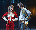 The Rover by Aphra Behn, A Royal Shakespeare Company Production directed by Loveday Ingram. With  Faye Castelow as Hellena., Joseph Millson as Willmore. Opens at The Swan Theatre, Stratford Upon Avon on 15/9/16. CREDIT Geraint Lewis