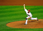 8 June 2010: Washington Nationals' pitcher Tyler Clippard on the mound against the Pittsburgh Pirates at Nationals Park in Washington, DC. The Nationals defeated the Pirates 5-2 in the series opener where Stephen Strasburg pitched 7 complete innings, struck out 14 batters, notching his first win in the majors. Mandatory Credit: Ed Wolfstein Photo