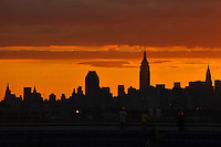 Lo skyline di New York<br /> New York Flushing Meadows 03-09-2013 Tennis Torneo US Open Grande Slam.<br /> Photo Antoine Couvercelle / Panoramic / Insidefoto<br /> ITALY ONLY