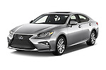 2018 Lexus ES 300h 4 Door Sedan Angular Front stock photos of front three quarter view