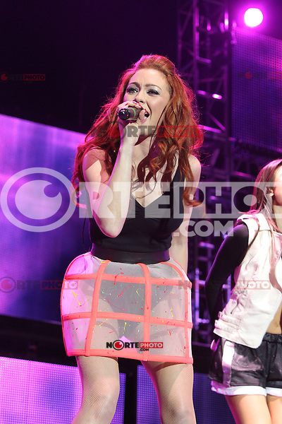 """EXCLUSIVE PICTURE: TREVOR ADAMS / MATRIXPICTURES.CO.UK.PLEASE CREDIT ALL USES..WORLD RIGHTS..English pop girl-group Atomic Kitten are pictured performing live onstage as part of The Big Reunion concert tour opening night at the Motorpoint Arena in Sheffield...The tour is the culmination of British reality-documentary series """"The Big Reunion"""" that saw several pop groups, who were big names in the mid-to-late 90's, in intensive rehearsals leading up to the event...MAY 3rd 2013..REF: MTX 132970"""