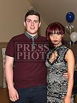 Karen Coogan celebrating her 21st birthday in the Thatch with boyfriend Ciaran Hurley. Photo:Colin Bell/pressphotos.ie