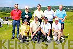 Competing at the John B O'Shea tournament in Castleisland Golf Course on Saturday <br />