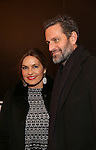 Mariska Hargitay and Peter Hermann attend the Broadway Opening Night of Sunset Boulevard' at the Palace Theatre Theatre on February 9, 2017 in New York City.