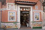 Pottery Souvenir Shop in Alicante, Spain