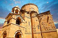 10th century Armenian Orthodox Cathedral of the Holy Cross on Akdamar Island, Lake Van Turkey 57