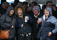 Preston North End fans enjoy a drink before the match<br /> <br /> Photographer Stephen White/CameraSport<br /> <br /> The EFL Sky Bet Championship - Blackburn Rovers v Preston North End - Saturday 18th March 2017 - Ewood Park - Blackburn<br /> <br /> World Copyright &copy; 2017 CameraSport. All rights reserved. 43 Linden Ave. Countesthorpe. Leicester. England. LE8 5PG - Tel: +44 (0) 116 277 4147 - admin@camerasport.com - www.camerasport.com