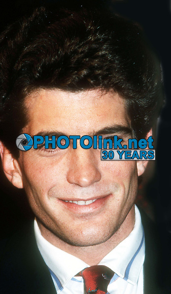 John Kennedy, Jr. 1986<br /> Photo By John Barrett/PHOTOlink.net