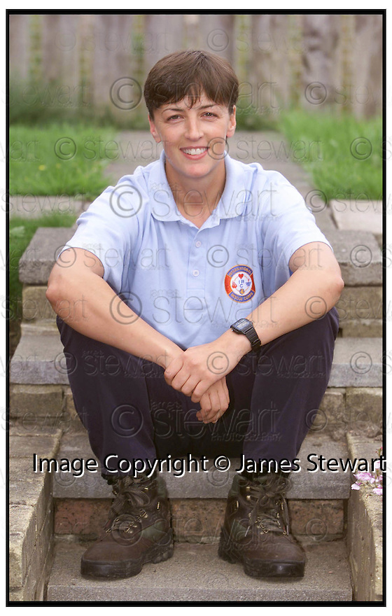 27th August 99                     Copyright Pic : James Stewart .Ref : 990325                          .File Name : stewart05-anne marie macdonald                        .ANNE MARIE MACDONALD WHO IS A MEMBER OF THE INTERNATIONAL RESCUE SQUAD........Payments to :-.James Stewart Photo Agency, 19 Carronlea Drive, Falkirk FK2 8DN      Vat Reg No. 607 6932 25.<br /> Office : 01324 570291<br /> Mobile : 0421 416997.<br /> E-mail : jim@jspa.co.uk<br /> If you require further information then contact Jim Stewart on any of the numbers above.........
