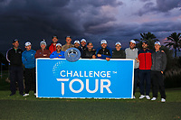 14 of The 15 graduates to the European Tour at the Challenge Tour Grand Final 2019 at Club de Golf Alcanada, Port d'Alcúdia, Mallorca, Spain on Sunday 10th November 2019.<br /> Picture:  Thos Caffrey / Golffile<br /> <br /> Connor Syme, Cormac Sharvin, Calum Hill, Sebastian Garcia Rodriguez, Ricardo Santos, Francesco Laporta, Adrian Meronk, Oliver Farr, Sebastian Heisele, Darius Van Driel, Jack Senior, Matthew Jordan, Antoine Rozner, Richard Bland and Robin Roussel.<br /> <br /> All photo usage must carry mandatory copyright credit (© Golffile | Thos Caffrey)