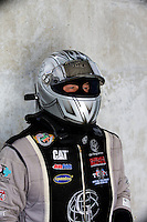 Sept. 1, 2013; Clermont, IN, USA: NHRA top fuel dragster driver Bob Vandergriff Jr during qualifying for the US Nationals at Lucas Oil Raceway. Mandatory Credit: Mark J. Rebilas-