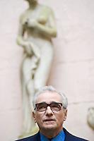 """Martin Scorsese durante la presentazione a Roma del film """"Shutter Island""""."""