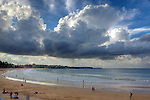 Sunrise at Manly Beach.