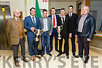 At the  Tralee Municipal District annual awards ceremony  on Friday,  in the Council chambers were Fossa Rowing Club 2016 all ireland Champions  l-r Rayond Coffey, President, Paudie McCarthy, John Alman, David Blennerhassett, Pat Tagney, Vincent Griffin, Connie Daly, Vice Chairman