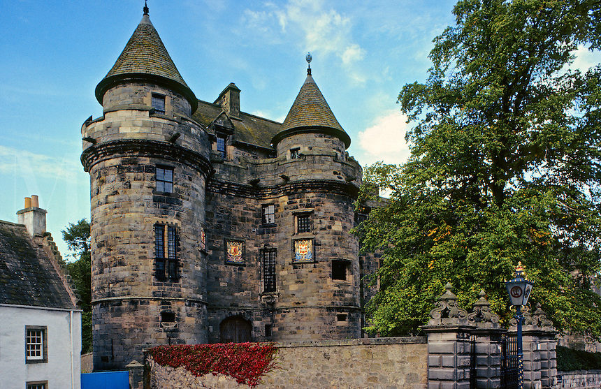 Falkland Palace, Cupar, Fife, Scotland.  Country retreat of the Stuart kings built 1501 - 1541..