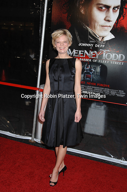 """Martha Plimpton.arriving at the New York Premiere of """"Sweeney Todd"""" starring Johnny Depp on December 3, 2007 at The Ziegfeld Theatre in New York City. .Robin Platzer, Twin Images"""