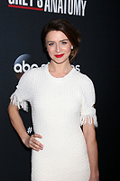 """LOS ANGELES - NOV 4:  Caterina Scorsone at the """"Grey's Anatomy"""" 300th Episode Event at Tao on November 4, 2017 in Los Angeles, CA"""
