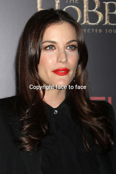 "Liv Tyler attends the premiere of ""The Hobbit: An Unexpected Journey"" at the Ziegfeld Theatre in New York, 06.12.2012...Credit: Rolf Mueller/face to face"